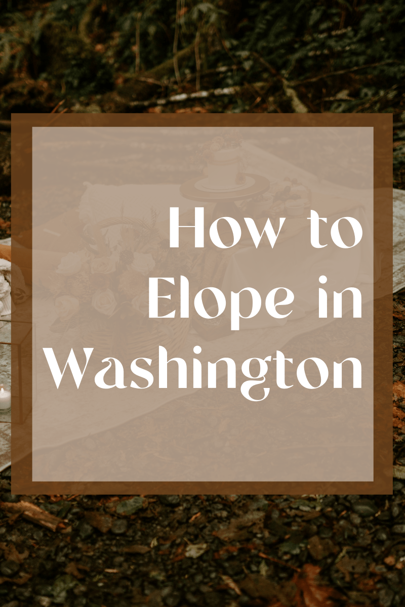 How to elope in washington