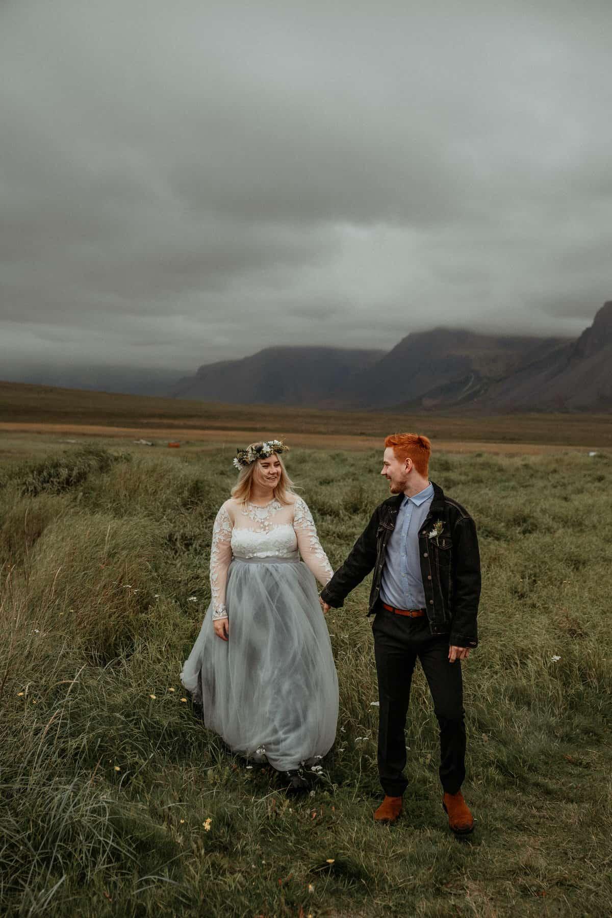 budir iceland elopement